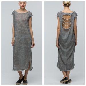 Dresses & Skirts - Loose fit shredded back dress