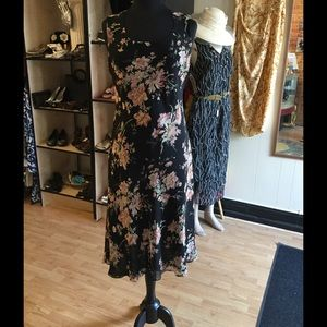 Casual Corner sheer floral dress sz 10. SALE!