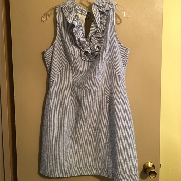 Just Madras Dresses & Skirts - NWT Just  Madras seersucker dress