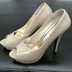 Light Beige High Heels