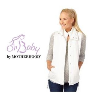SALE Oh Baby by Motherhood Maternity Puffer Vest