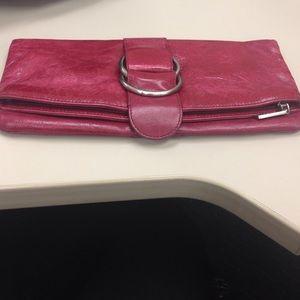 Hobo Handbags - Authentic leather clutch💥💥1 HR sale