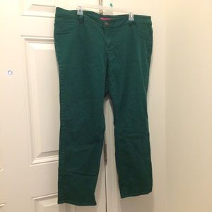 Pure Energy Teal Skinny Jeans 22