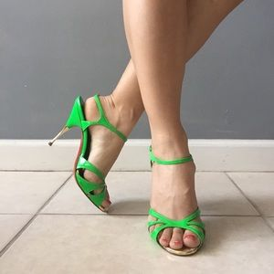 Christian Louboutin Shoes - Christian Louboutin Noeudette Patent heels Sandals