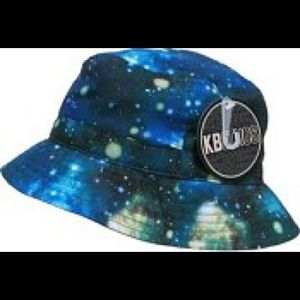 KBethos Accessories - NWT KBethos Galaxy Print Bucket Hat