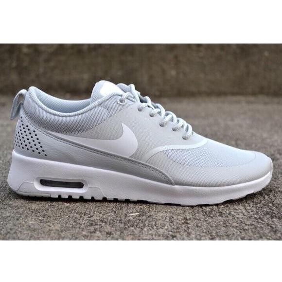 18ed6c9300 Nike Shoes | Air Max Thea Pure Platinum White | Poshmark