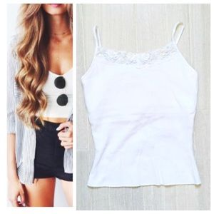 Energie Tops - NWT White Camisole