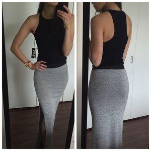 Atid Clothing Tops - F I N A L • Ribbed Black Tank