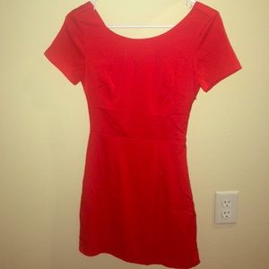 Tobi red Callback dress