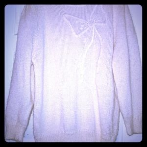 Adia Sweaters - 80's Vintage Ribbon Sweater