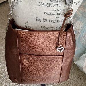 ❤️NEW Authentic BRIGHTON Bronze shoulder Bag