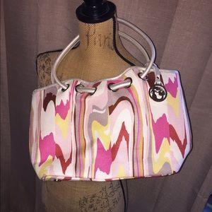 Spartina 449 Handbags - NWOT Spartina 449 linen and leather bag