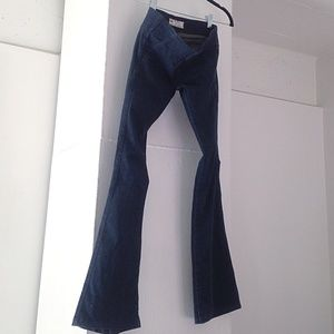 FREE PEOPLE flared jeggings