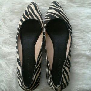 Calf Hair BR Zebra Flats 