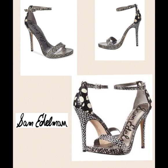 ded629255a2661 NEW Sam Edelman Eleanor polka dot sandal