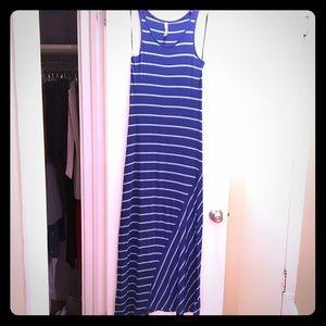 Blue Kensie Pieces Maxi Dress