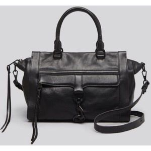 Rebecca Minkoff | leather bowery satchel tote