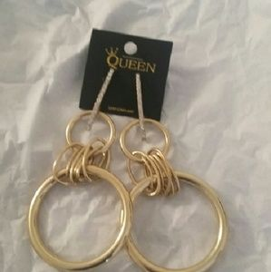 Jewelry - Large Gold Earrings
