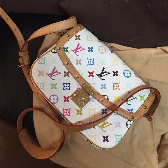 0f5a3ae768b Louis Vuitton Bags   Authentic Multicolor Sologne Vi1026   Poshmark