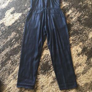 f8f54e5b5cb GAP Pants - 1969 Gap Tencel Denim Cami Jumpsuit size M