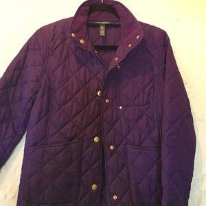 ☃❄️❄️❄️Ralph Lauren Purple Jacket size M
