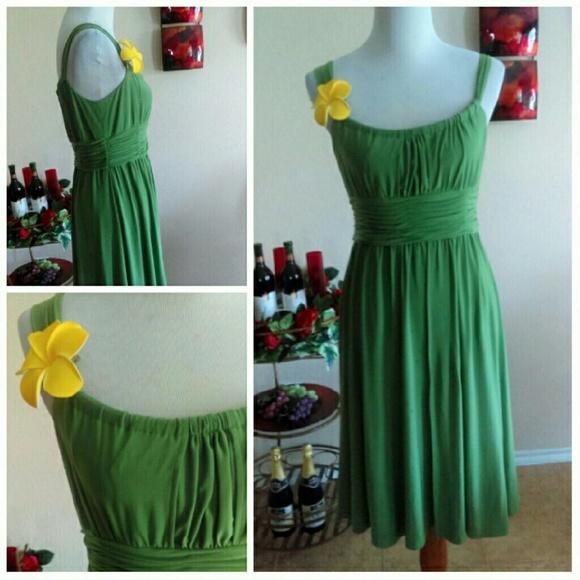 Jones Wear Dress Dresses - ⬇Olive Green Stretchy Swing Dress