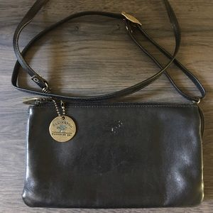 Ellington Handbags - 🛍 Ellington Black Leather Cross Body Bag