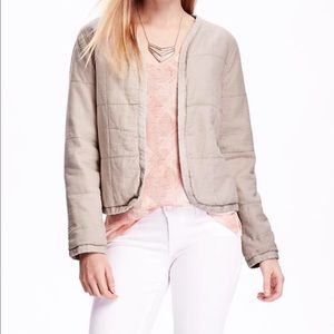NEW Old Navy Cotton Quilted Jacket