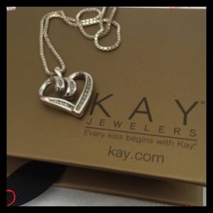 Kay Jewelers Jewelry - Diamond Heart Necklace