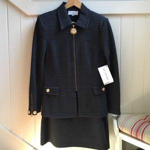 St. John Other - ❗FLASH SALE❗St. John NWT Grey Jacket and Skirt Set