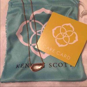 Kendra Scott Jewelry - Kendra Scott Cami Necklace Brown MOP & Rose Gold