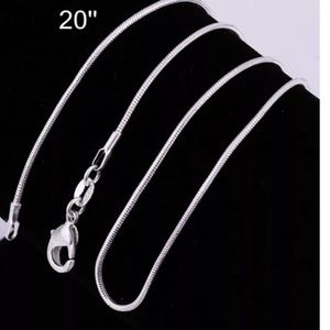 Jewelry - 🎄Buy 1 get 1 FREE !!!!🎄.            Silver chain