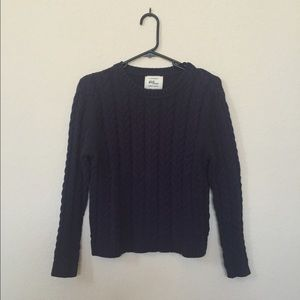 NEW Cable Knit Sweatshirt