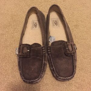 Ugg brown loafers size 7.5