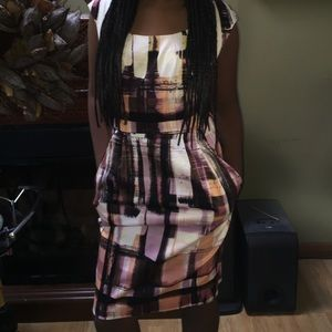 Maggy London Dresses & Skirts - beautiful midi, multi colored dress