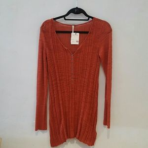Free People ribbed henley