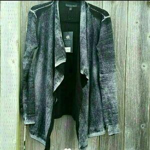 Reverse Dyed Cardigan