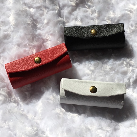 90 Off Other Last1 Leather Lipstick Mirror Case Gift