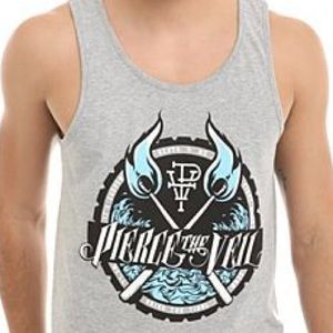 Hot Topic Tops - 🔴Piece the Veil official band merch muscle tank