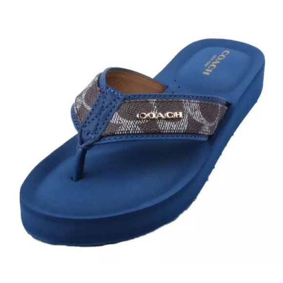 1cd254eab37b Authentic Coach Judy Flip Flops Sandals