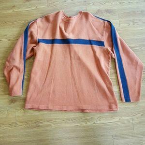 Sonoma Sweaters - Sonoma orange and navy blue long sleeved shirt XL