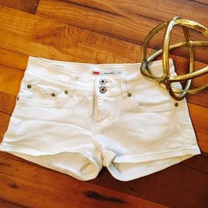 LEVI'S White Denim Short