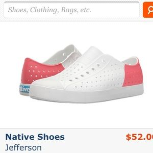 Native Shoes - Native Jefferson shoes size 7. New!!!