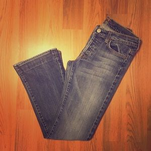 7 for all Mankind Denim - 7 for all Mankind Boycut Jeans.