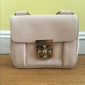 ac2afc45de Chloe Bags | Chlo Elsie Shoulder Bag In Cement Pink | Poshmark