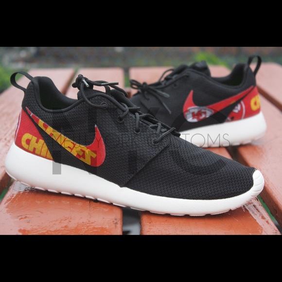 Kansas City Chiefs Nike Roshe One Custom