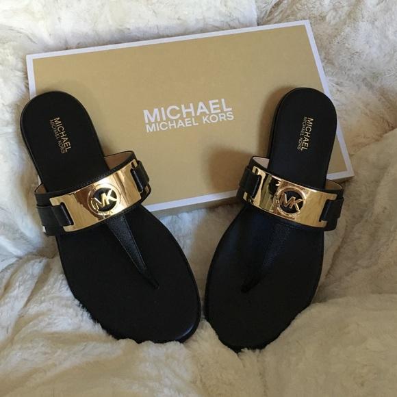 735efa4a3ae NWT MK Warren thong sandals