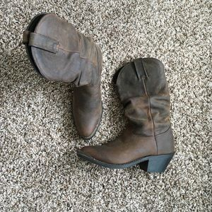 Durango Slouch cowgirl Boots EUC