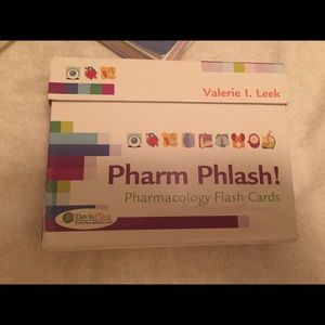 Pharmaceutical flash cards