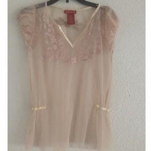 American exchange  Tops - Super cute sheer blouse